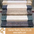 beige botticino marble stairs