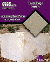 Ocean Beige Marble Blocks