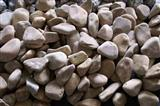tumbled pebbles honey gold