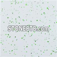 Quartz Surface Slabs Green Glass