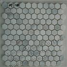 White marble mosaic tiles MT-08