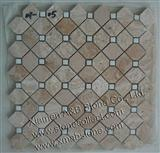 Travertine mosaic tiles MT-05