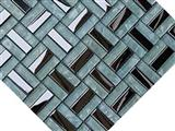 Mosaic, Backsplash Metal Mosaic Tile