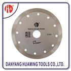 HM13 Continuous Rim Circular Saw Blades For Granite Marble Bricks Concrete