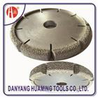 HM35 Vacuum Brazed Diamond Dry Cutting Saw Blade For Sandstone
