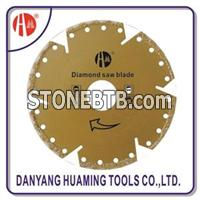 HM33 Vacuum Brazed Diamond Blades