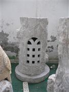 Granite marble, natural stone lanterns
