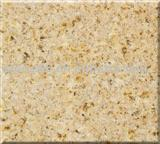Sunset Gold Granite Tile, Slab