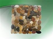river rock pebble tile