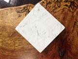 White pattern quartz stone countertop vanity top