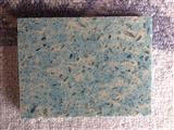Stellar light blue Quartz stone countertop vanity top