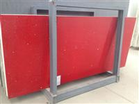 Red Quartz Big Slab for countertop table top