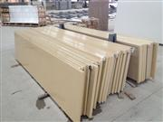 2014 Fashion Light yellow Engineering Quartz Slab
