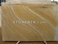 Wooden Yellow Slab