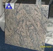 China Juparana granite pink floor tile