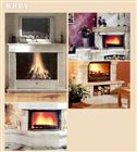 Fireplaces - marble, granite and travertine