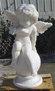 White marble Angel Sculpture, Head Statue