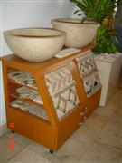 Travertine wash basins, sinks, moldings