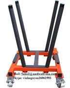 aardwolf V-CART tools for moving stone, construction, equipment, machinery, granite, glass, work site