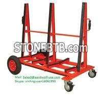 aardwolf DOUBLE SIDED SLAB BUGGY tools for moving stone, construction, equipment, machinery, granite, glass, work site