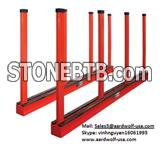 BUNDLE SLAB RACK, AARDWOLF frame for stone, stone storage a frame, truck a frame, stone rack, stone tool machine, granite, marble, move