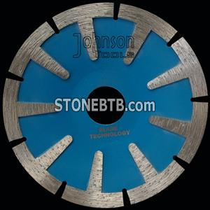 115mm sintered T shape segmented saw blade