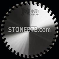 500mm floor saw blade with tapered U