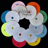 125mm Diamond Wet Polishing Pad White