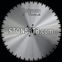 700mm wall saw blade with tapered U