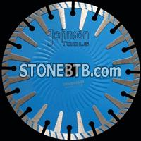 230mm sintered T shape segmented saw blade
