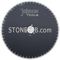 600mm Laser saw blade cutting for granite