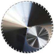 millde size Laser Welded Saw Blade for Green Concrete