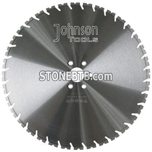 600mm wall saw blade with tapered U