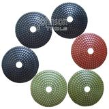 100mm Diamond Convex Polishing Pad