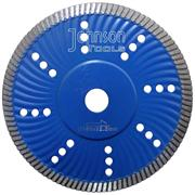 180mm sintered turbo wave saw blade
