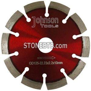 125mm diamond Laser Welded Saw Blade For Concrete