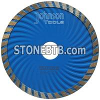 125mm sintered turbo wave saw blade