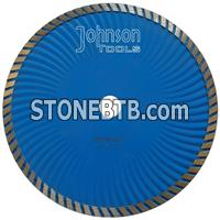 230mm sintered turbo wave saw blade