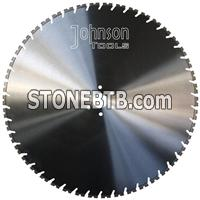 800mm Wall Saw Blade With Tapered U