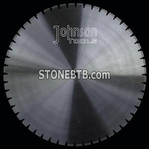900mm silver brazed cutting blade for granite