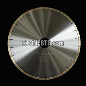 350mm diamond silver brazed saw blade for marble