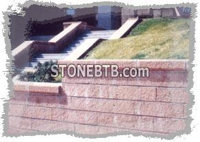 Andesite Stone Wall