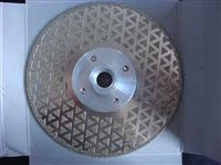 electroplated blades