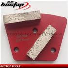 Metal Bond Magnetic Diamond Trapezoid Grinding Plate For Concrete Floor Grinder