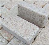 G682 flamed tumbled Cobbles