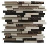 Glass mix stone tile(SY-129)