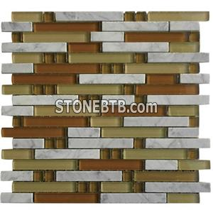 Natural stone mosaic tile(SY-131)