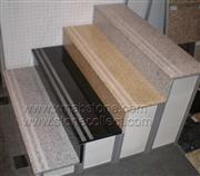 Granite Stair with Sandblasted or Bushhammered