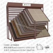 CX002 Sliding Floor Tile Ceramic Tile Stone Display Stand Rack