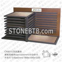 CX007 Ceramic Tile display rack
